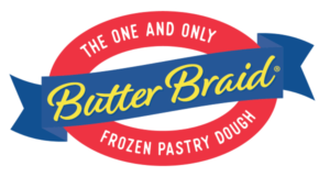 butter braid pastries